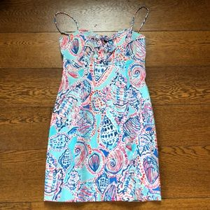 Lilly Pulitzer Petra Dress Shell Me About It 0